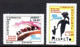 Honduras A 1077/78 Journée Des Réfugiés , ACNUR - Refugees