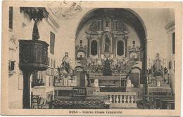 W2893 Bosa (Oristano) - Interno Della Chiesa Dei Cappuccino / Viaggiata 1928 - Altre Città