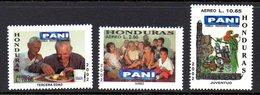 Honduras A 1114/16 PANI, Enfants, Perroquet, Culture, Guitare, Archéologie - Tegen De Honger