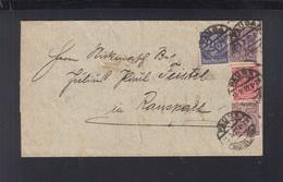 Dt. Reich Dienstbrief 1920 Pausa - Briefe U. Dokumente