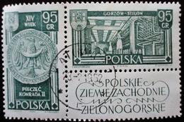 1962 POLOGNE POLSKA  Yt 1113-1114 Recovered Territories - 1944-.... République