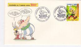 FDC - Enveloppe - Journée Du Timbre 1999-  Astérix - FDC