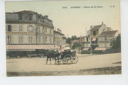 POISSY - Place De La Gare - Poissy