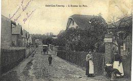 Carte Postale Ancienne De  SAINT LEU TAVERNY - Avenue Du Parc - Autres Communes