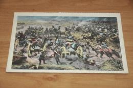 9410-    WATERLOO 1815, BATTERIE ANGLAISES DEVANT LA BRIGADE COLIN-HALKETT PENDANT LA BATAILLE - Waterloo
