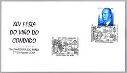 XLV FIESTA DEL VINO DEL CONDADO. Salvaterra Do Miño, Galicia, 2004 - Vinos Y Alcoholes