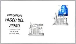 MUSEO DEL VIENTO - MUSEUM OF THE WIND. Molino - Windmill. La Muela, Aragon, 2004 - Molinos