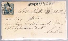 Portugal, 1855, # 6 - I, Portalegre-Lisboa - Lettres & Documents