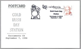 GOLD RUSH DAY. MINERIA - MINIG - ORO. Sacramento CA 1998 - Minerales