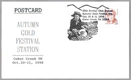AUTUMN GOLD FESTIVAL. MINERIA - MINIG - ORO. Coker Creek TN 1998 - Minerales
