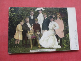President Roosevelt & Family     Ref 3333 - Historical Famous People
