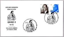 1100 Años REINO DE LEON - RAMIRO II (931-951). Villaquilambre, Leon, 2008 - Historia
