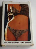 Rare Jeu 54 Cartes à Jouer érotisme Bridge Pocker Merck Laboratoires Canasta Theramex - 54 Cards