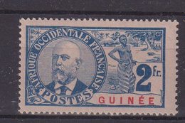 GUINÉE : N° 46 * . TYPE BALLAY . TB . 1906/07 . - Guinée Française (1892-1944)