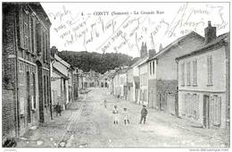 CONTY  (80)      - LA GRANDE RUE -      Bb-277 - Conty