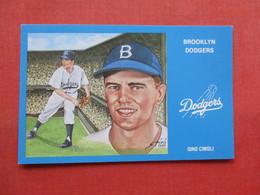 Baseball Brooklyn Dodgers  Gino Cimoli     Ref 3333 - Baseball
