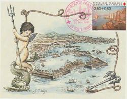 Carte-Maximum FRANCE N° Yvert 2733 (TOULON) Obl Sp Ill 1er Jour La Poste France (Ed Emp) - 1990-99