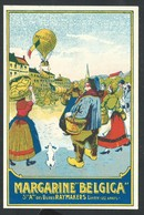 +++ CPA - Carte Publicitaire - Publicité Margarine BELGICA - Usines Raymakers - LIERRE LEZ ANVERS - LIER  // - Publicité