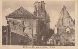Kirche Und Pfarrhaus In UFFHOLZ - Frankreich