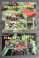 Tonga 2015; Animals &  Fauna, Insects, Butterflies; MNH, Neuf**, Postfrisch!! CV 390 Euro!! - Tonga (1970-...)