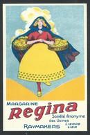+++ CPA - Carte Publicitaire - Publicité Margarine REGINA - Usines Raymakers - LIERRE - LIER  // - Publicité