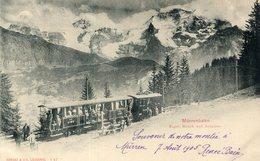 SUISSE(MURREN) TRAIN - BE Berne