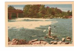 BUCKHORN, Ontario, Canada, The Rapids, Old WB PECO Postcard, Peterborough County - Ontario