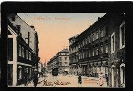 Freilberg,Germany-Bahnhofstrasse 1911 - Antique Postcard - Germany