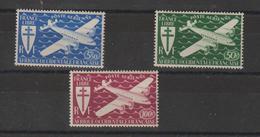 AOF 1945 Série PA 1 à 3 3 Val Neuf ** MNH - Ongebruikt