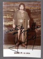 Musica Lirica - Autografo Del Tenore Gilbert Py - 1980 Ca. - Autografi