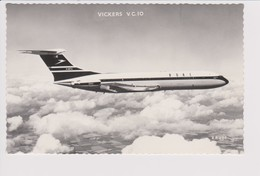 Rppc BOAC B.O.A.C. British Overseas Airways Corporation VC-10 Aircraft - 1946-....: Modern Era