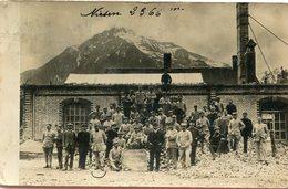 SUISSE(SPIEZ) CARTE PHOTO(ATELIER D INTERNES - BE Berne