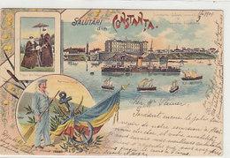 Salutari Din Constanta - Litho - 1901     (190501) - Romania