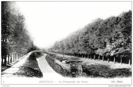ABBEVILLE (80)    - PENICHE AU CANAL -    Bb-294 - Abbeville