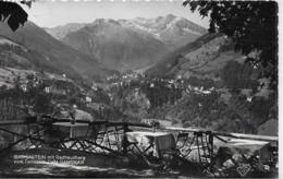AK 0232  Badgastein Mit Radhausberg Vom Terrassen-Cafe Gamskar - Verlag Gründler Um 1956 - Bad Gastein