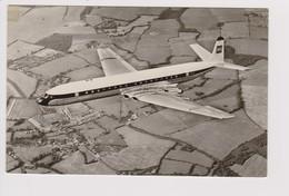 Vintage Rppc. BEA British European Airways, De Havilland Comet 4b Aircraft - 1946-....: Modern Era