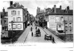 (80)  ABBEVILLE    LA RUE SAINT-VULFRAN    -   Bb-296 - Abbeville
