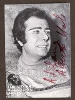 Musica Lirica - Autografo Del Baritono Alberto Noli -  Anni '70 - Autografi