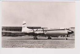 Vintage Rppc Canadair Bristol Britannia CL-44 Freighter Aircraft - 1946-....: Modern Era