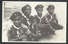 +++ CPA - Scout - Scoutisme - Congo Belge - Louveteau De L'Unité St Georges - LEOPOLDVILLE    // - Scoutisme