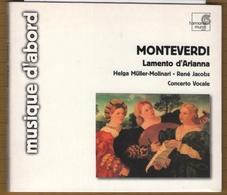 CD MONTEVERDI LAMENTO D'ARIANNA  BON ETAT & RARE - Classique