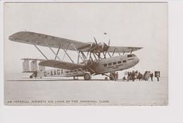 Vintage Rppc BEA BOAC British Imperial Airways Ltd Hannibal Class Aircraft - 1946-....: Modern Era