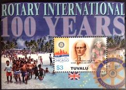 Tuvalu 2005 Rotary Minisheet MNH - Tuvalu