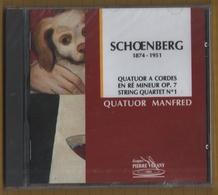 CD 4 TITRES NEUF SOUS BLISTER QUATUOR MANFRED SHOENBERG RARE - Klassik