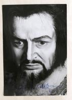 Musica Lirica - Autografo Del Basso-baritono Siegmund Nimsgern  - 1980 Ca. - Autografi