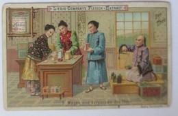 Liebig  Serie 198, Der Tee, Nr.5, Wagen Und Verpacken Des Tees ♥ (2965) - Liebig