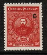 PARAGUAY  Scott # L 6* VF MINT LH (Stamp Scan # 499) - Paraguay