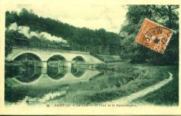N°72754 -cpa Saint Lo -le Pont De La Buissonière- - Ouvrages D'Art