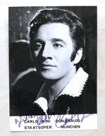 Musica Lirica - Autografo Del Tenore Carlo Bini - 1980 Ca. - Autografi