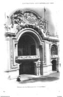 PARIS - EXPOSITION UNIVERSELLE DE PARIS 1900 :  PALAIS DE LA DECORATION  -INDIVISE - Bb-302 - Exhibitions
